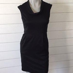 Ann Taylor black cocktail dress size 2 petite